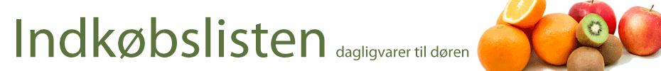 Velkommen til Indkøbslisten - din dagligvareforhandler i Odense